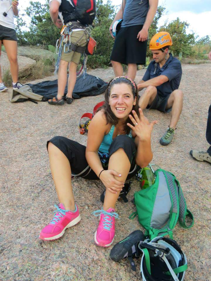 Image 5 of Elise and Nathan's Rock Climbing Marriage Proposal