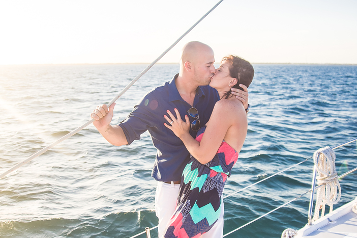 Image 3 of Whitney and Jean's Sailboat Proposal