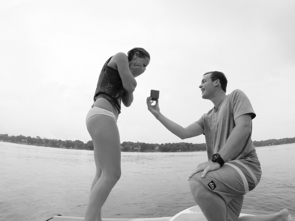Image 1 of Dedra and Andy's Wakesurfing Proposal