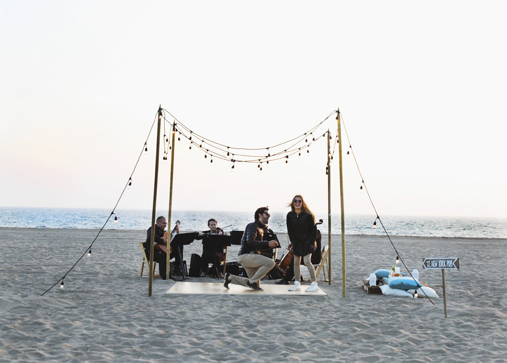 Image 3 of Maria and Guibson's Beautiful Proposal in Santa Monica