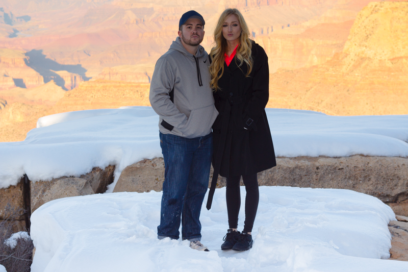 Proposal at the Grand Canyon