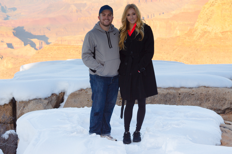Image 1 of Marissa and Anthony's Proposal at the Grand Canyon