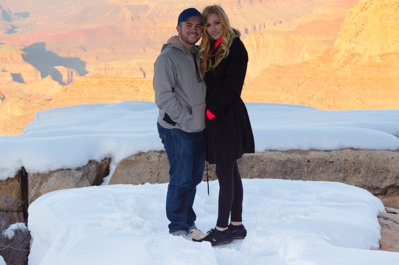 Image 7 of Marissa and Anthony's Proposal at the Grand Canyon