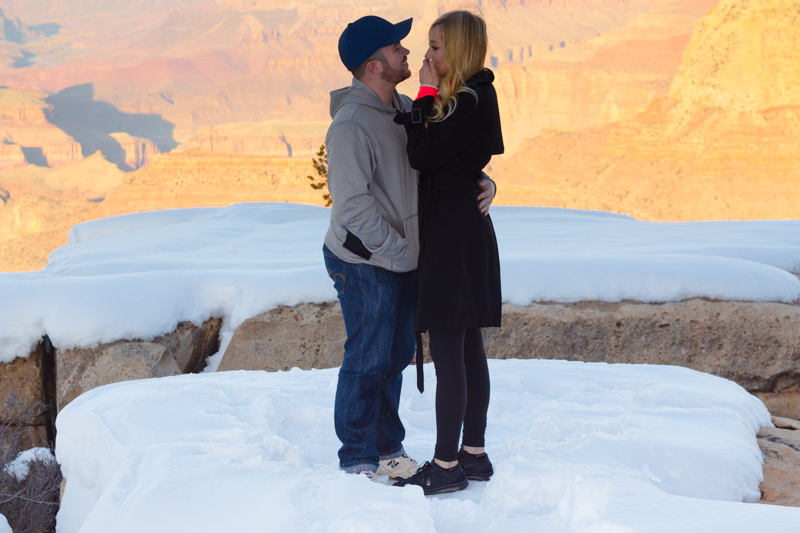 Image 11 of Marissa and Anthony's Proposal at the Grand Canyon
