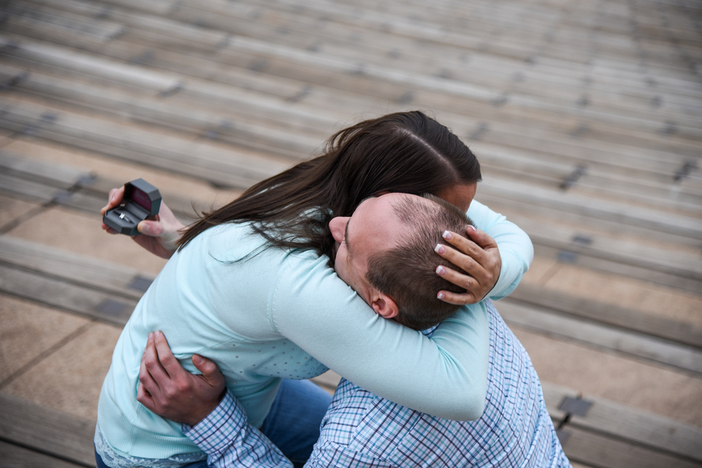 Marriage proposal at red rocks_3