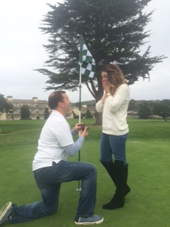 Image 2 of Sarah and Neal's 18th Hole Proposal