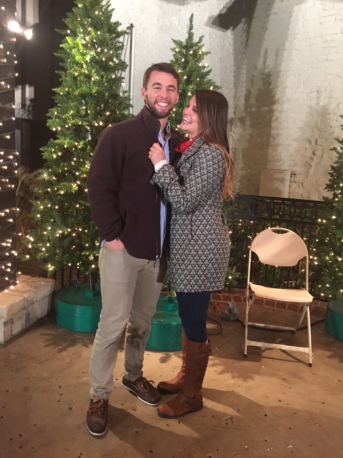 Image 4 of Sarah and Cody's Christmas Light Proposal