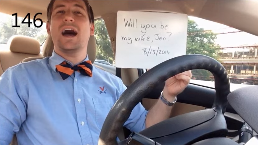 Image 5 of [VIDEO] He Had Been Proposing for 365 Days. Watch What Happens When She Finds Out.