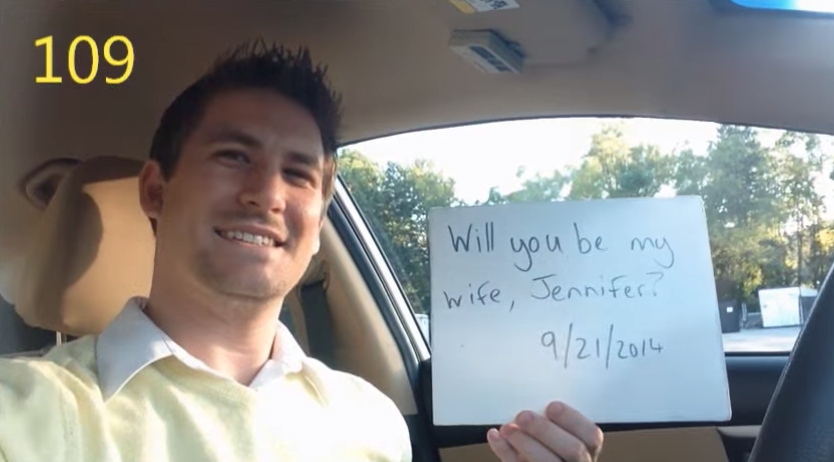 Image 3 of [VIDEO] He Had Been Proposing for 365 Days. Watch What Happens When She Finds Out.