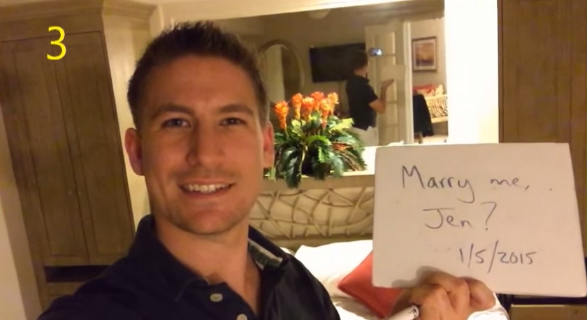 Image 4 of [VIDEO] He Had Been Proposing for 365 Days. Watch What Happens When She Finds Out.