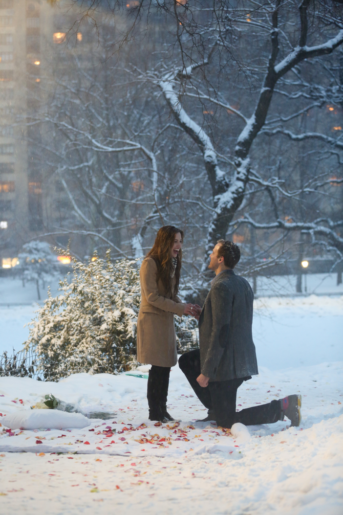 Image 7 of Nikki and Trent's Magical Marriage Proposal in New York City