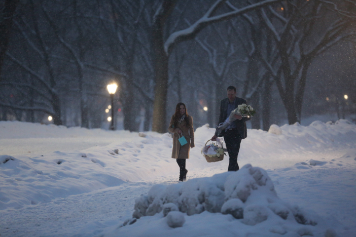 Image 9 of Nikki and Trent's Magical Marriage Proposal in New York City