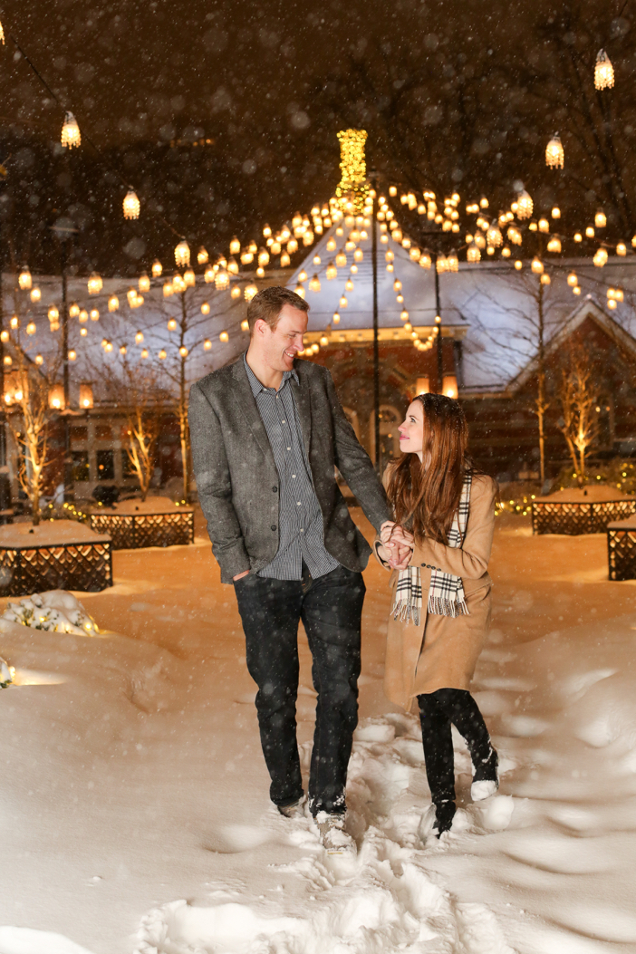 Image 1 of Nikki and Trent's Magical Marriage Proposal in New York City