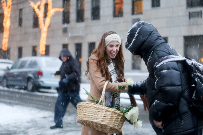 Image 4 of Nikki and Trent's Magical Marriage Proposal in New York City