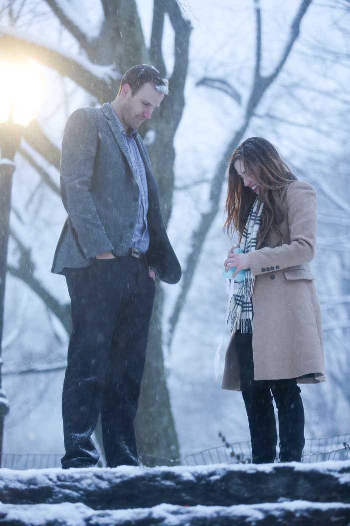Image 6 of Nikki and Trent's Magical Marriage Proposal in New York City