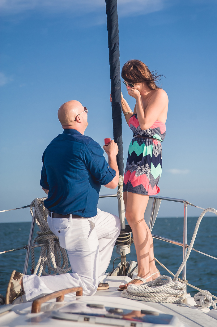 Image 4 of Whitney and Jean's Sailboat Proposal