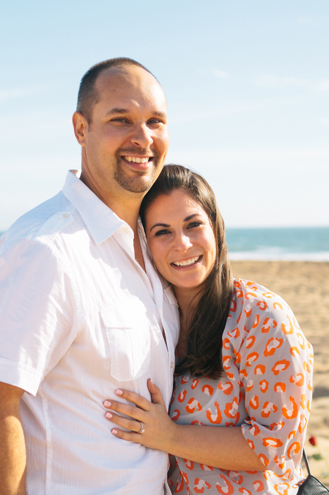 Image 1 of Romantic Roses on the Beach Proposal