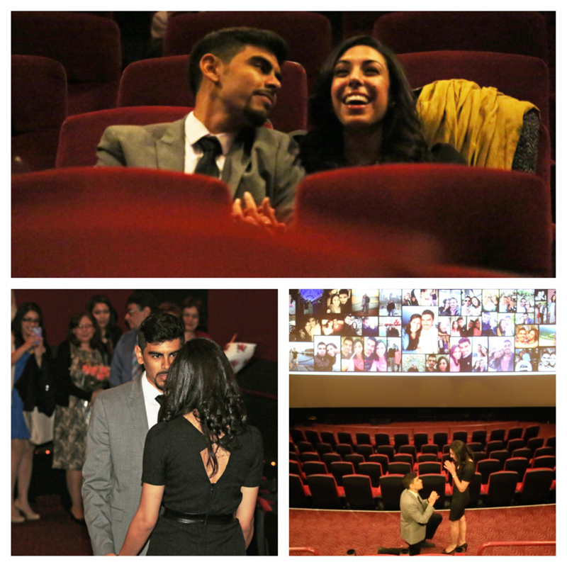 Image 1 of Veronica and Stephen's Movie Theater Proposal