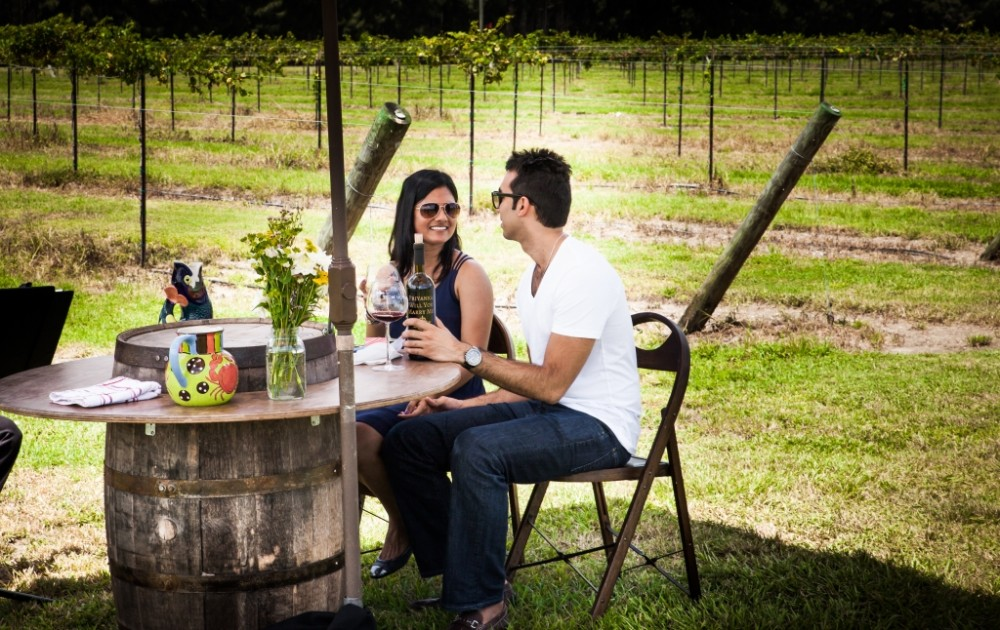 Image 5 of Priyanka and Amar's Beautiful Vineyard Proposal