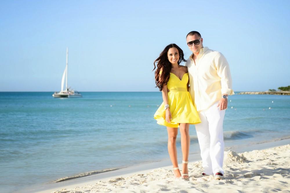 Image 1 of Amanda and Brendan's Proposal in Aruba