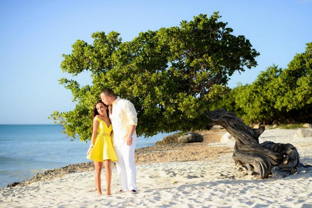 Image 3 of Amanda and Brendan's Proposal in Aruba
