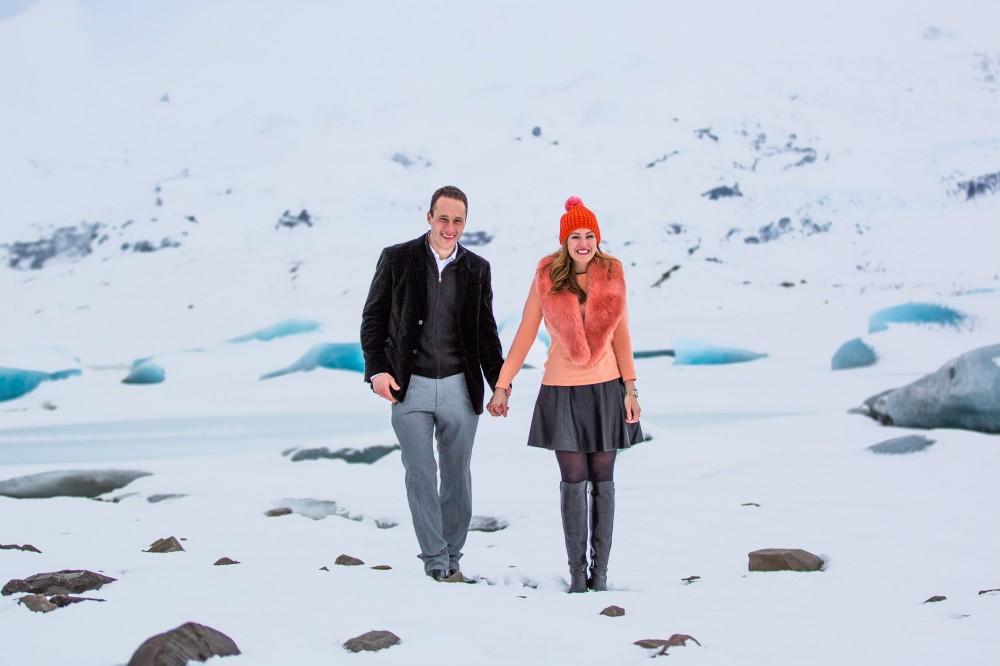 Image 2 of Paul and April's Icelandic Glacier Proposal