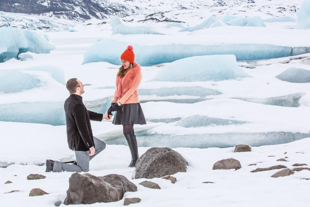Image 3 of Paul and April's Icelandic Glacier Proposal