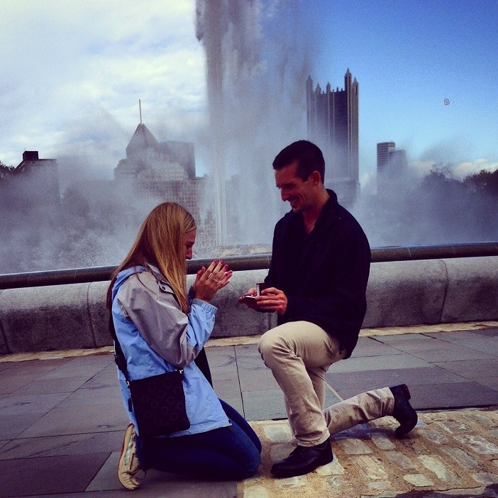 Image 3 of Ashley and David's Marriage Proposal in Pittsburgh