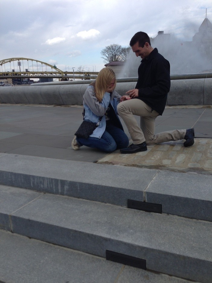 Image 4 of Ashley and David's Marriage Proposal in Pittsburgh