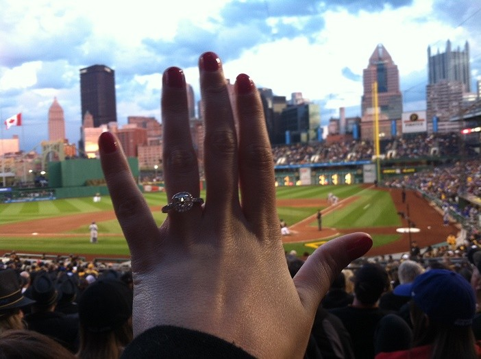 Image 7 of Ashley and David's Marriage Proposal in Pittsburgh