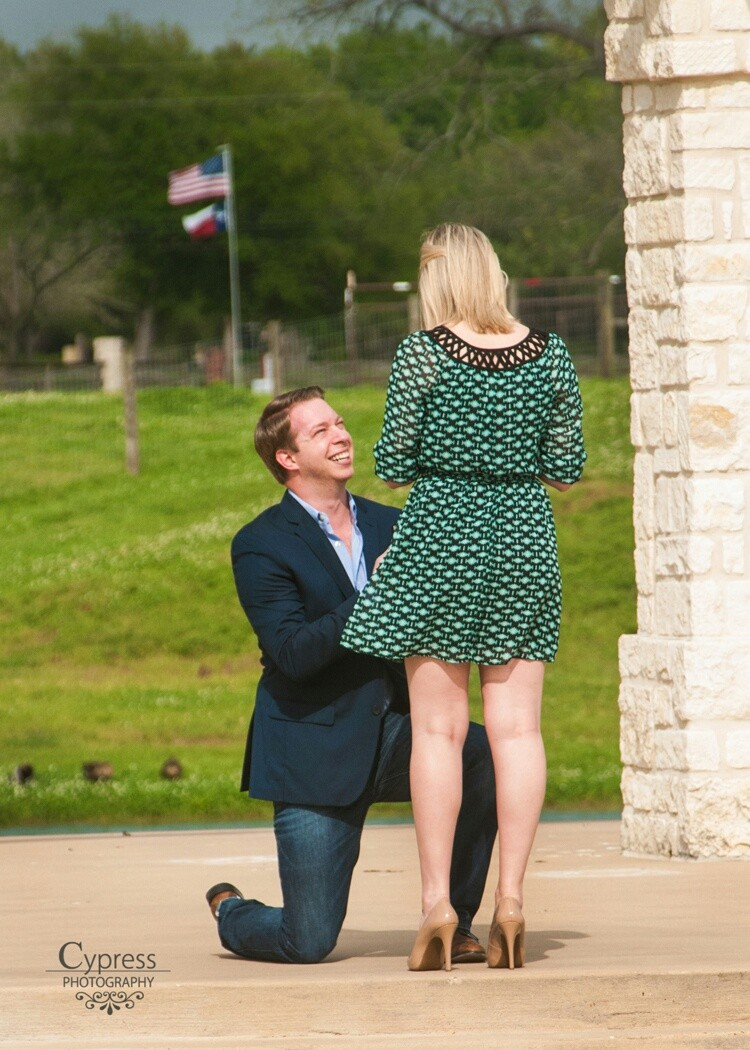 Image 2 of Kellye and Grant | Engaged at Briscoe Manor
