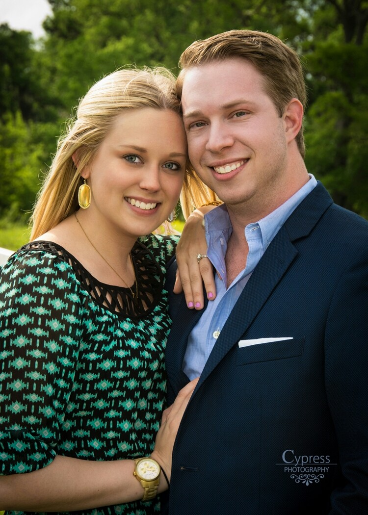 Image 1 of Kellye and Grant | Engaged at Briscoe Manor
