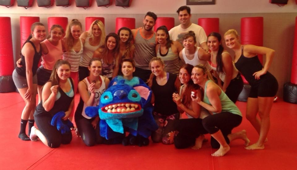 Girl Proposes to Girlfriend at Kickboxing Class (5)
