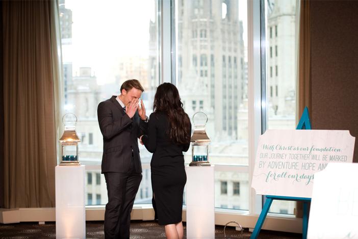 Image 7 of Jerek and Lauren's Romantic Proposal in Chicago