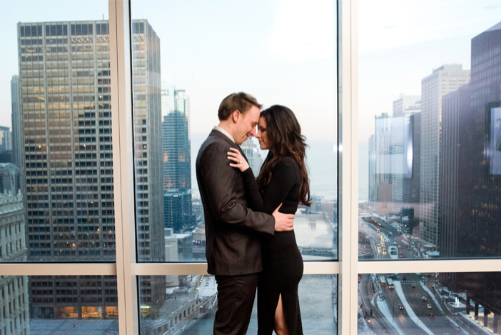 Image 9 of Jerek and Lauren's Romantic Proposal in Chicago