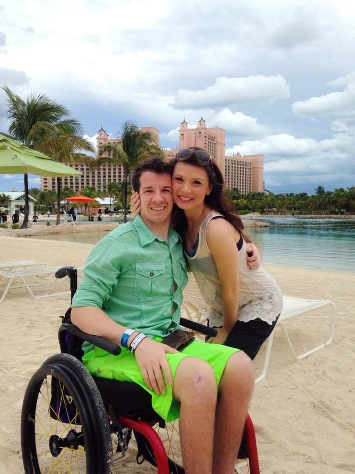 Image 8 of Paraplegic Man Learns to Walk for Marriage Proposal