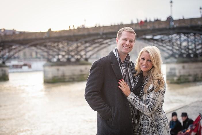 Love Lock Bridge France proposal (6)
