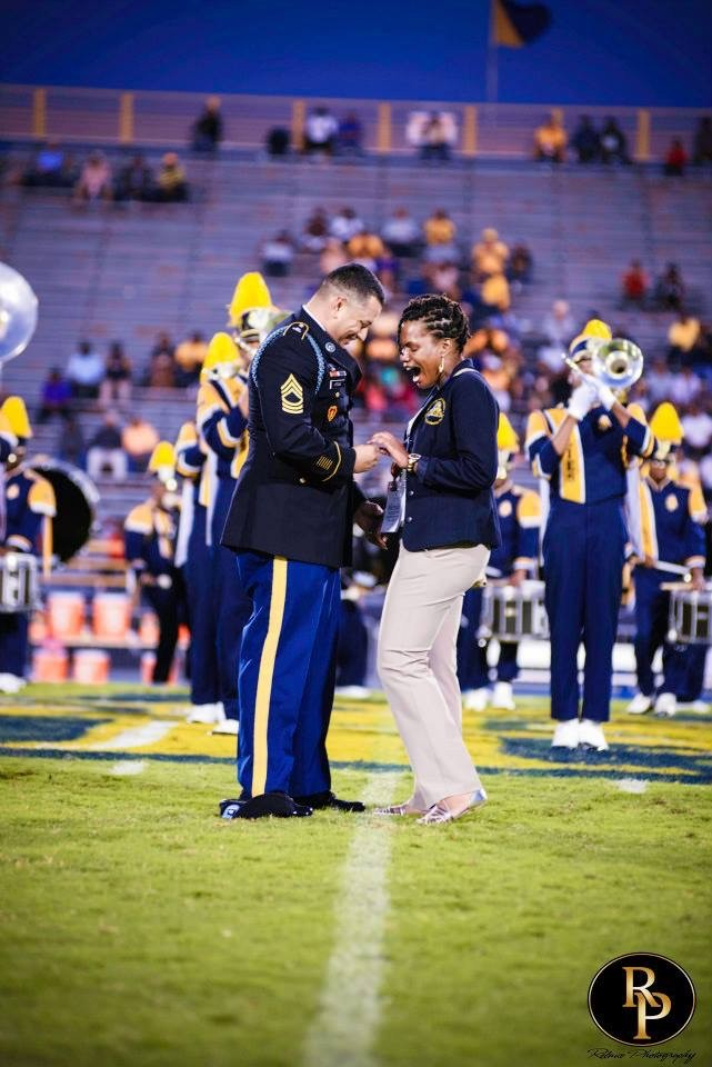 Marching Band Marriage Proposal (3)