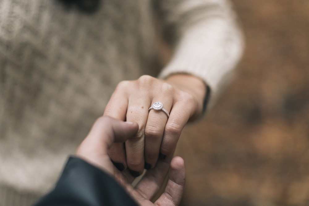 Image 1 of Chantelle and Aleks' Proposal in Beech Forest