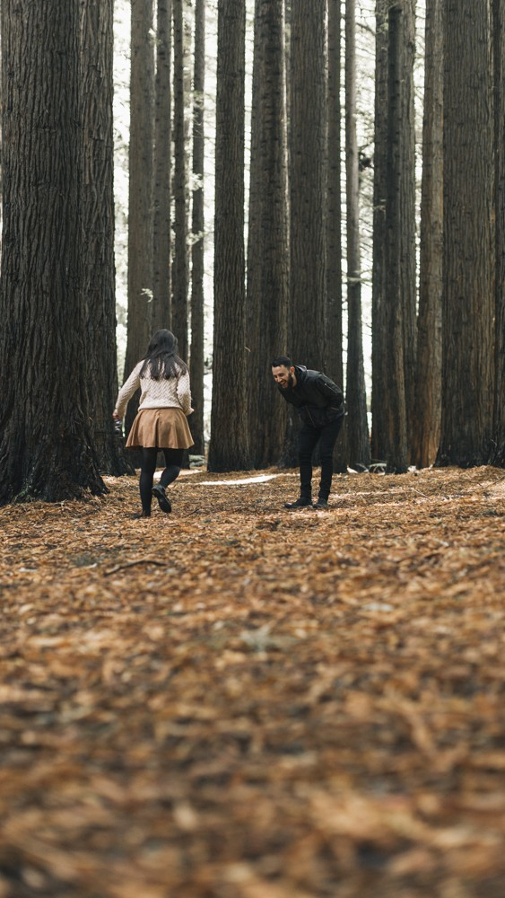 Image 4 of Chantelle and Aleks' Proposal in Beech Forest