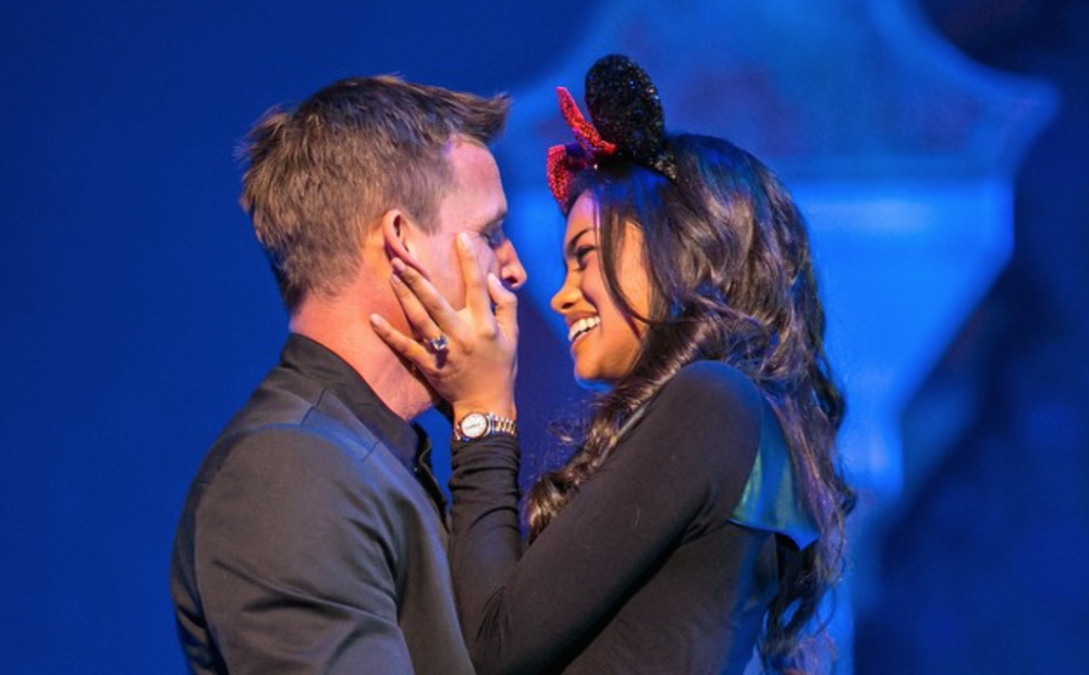 Rob Dyrdek Proposal at Disneyland Aladdin Musical (2)