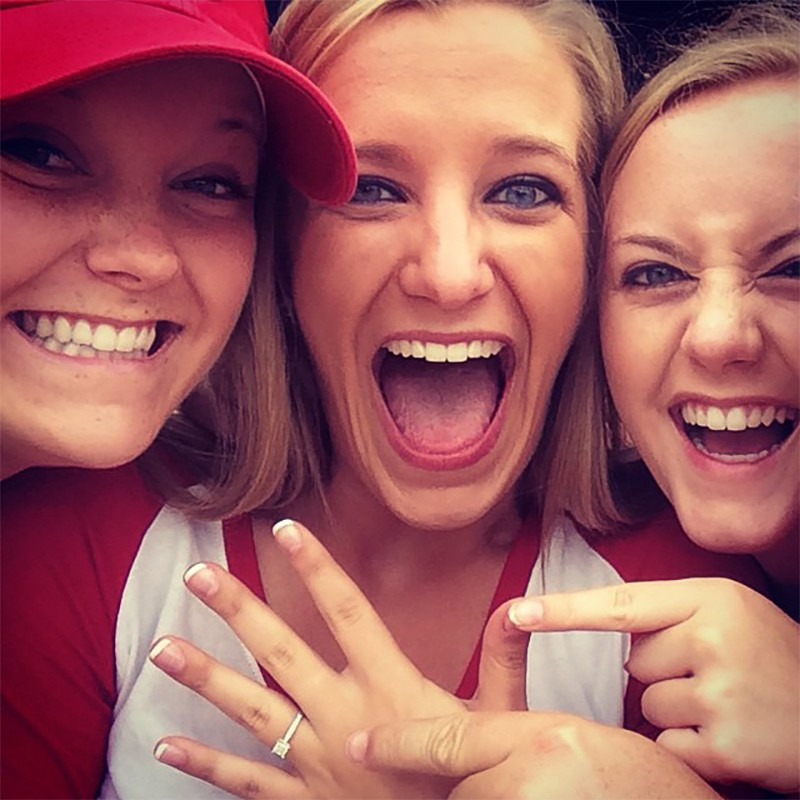 Image 5 of Shane Co. Couple: Stephanie and Bryce's St. Louis Cardinals Proposal