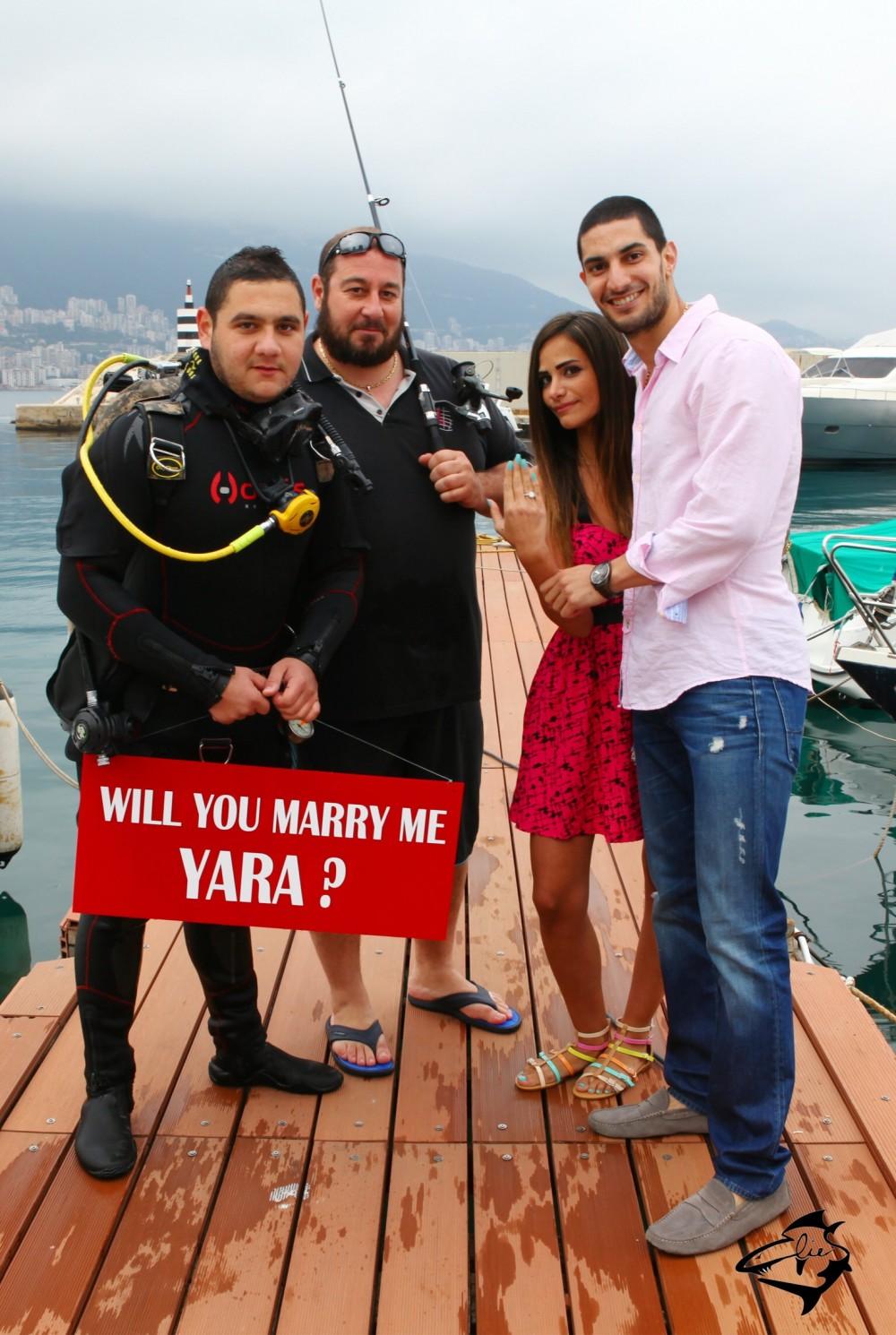Image 1 of Yara and Rodrigue