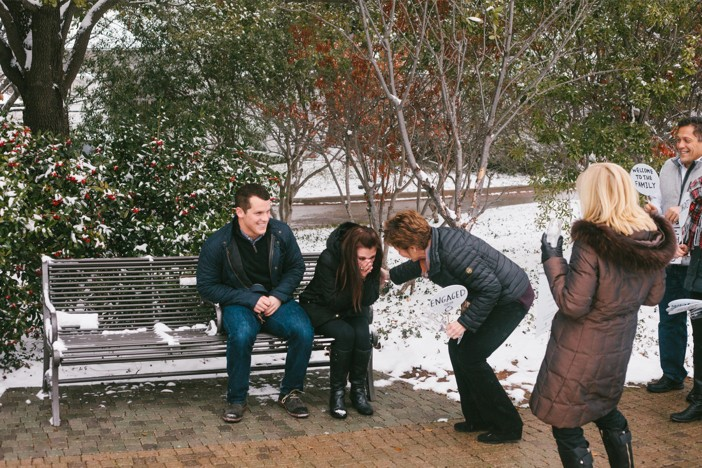 Image 9 of Emma and Brian's Snowy Proposal in Texas