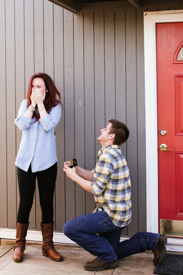 Image 4 of Pitbull Photo Shoot turns into a Proposal for Taylor and JJ