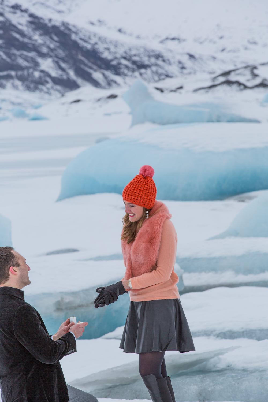 Image 5 of Paul and April's Icelandic Glacier Proposal