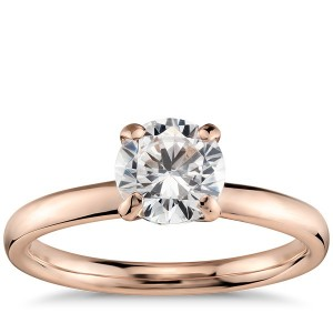 Monique Lhuillier Classic Solitaire Engagement Ring