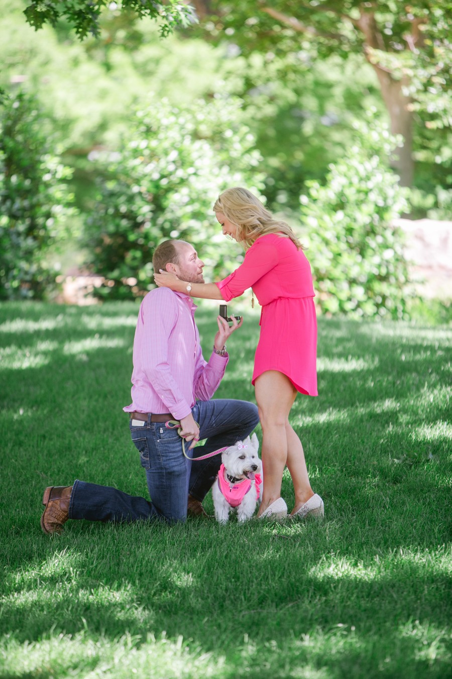 Image 7 of Jennifer and Drew's Dog Tag Marriage Proposal