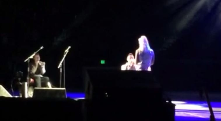 Ed Sheeran Concert Proposal On Stage