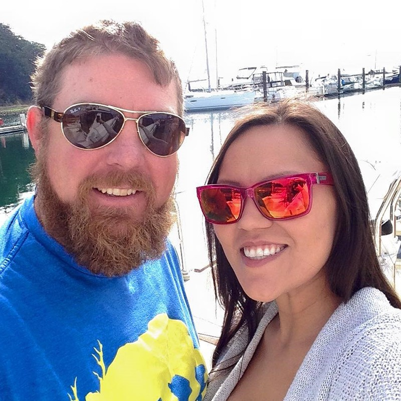 Image 1 of Shane Co. Couple: Lucy & Michael's Sunset Boat Proposal